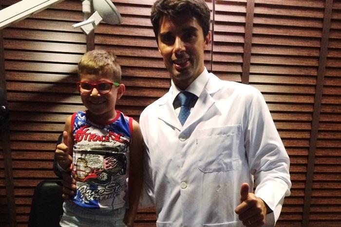 Reportagem - Implante intraocular traz luz à vida do garoto Marlon