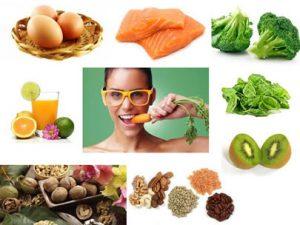 frutas e legumes para saude ocular