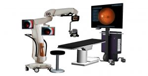 Vitrectomia 3D - Detalhe do novo equipamento da Alcon NGENUITY