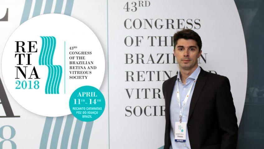dr alexandre grandinet participa do maior congresso de retina e vitreo da américa do sul