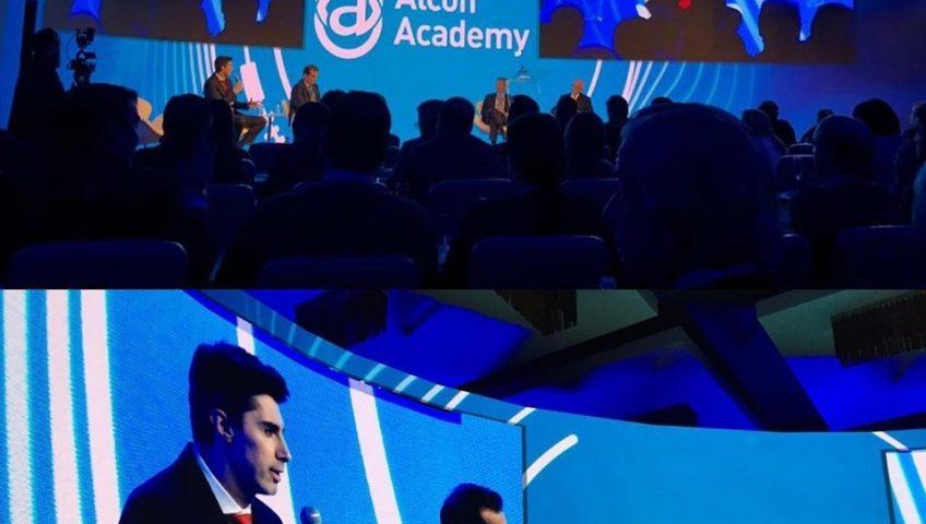 Dr. Alexandre Grandinetti no Alcon Academy 2019