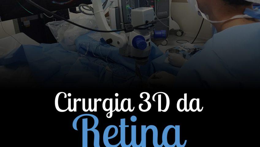 Cirurgia 3D da Retina