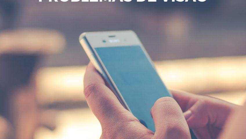 excesso de tempo no celular pode ocasionar problemas de visao