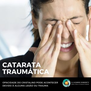 catarata traumática